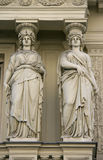 Classical twins Royalty Free Stock Photography
