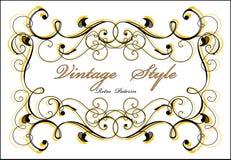 Classical vignette Stock Image