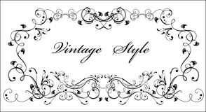 Classical vignette Stock Images