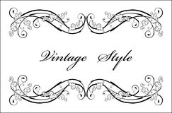 Classical vignette Royalty Free Stock Photos