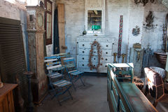 Classical vintage antiques shop Royalty Free Stock Photography
