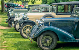 Classical vintage cars Stock Photo