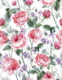 Classical vintage floral seamless pattern Royalty Free Stock Image