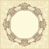 Classical vintage old frame design Royalty Free Stock Photos