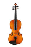 Classical violin. Musical instruments: violin on white background isolated with clipping path Stock Images
