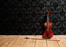 Classical violin Stock Images