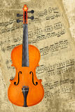 Classical violin Stock Photos