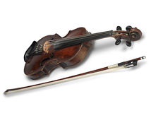 Classical violin instrument Stock Images