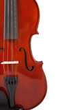 Classical Violin on White Stock Photography