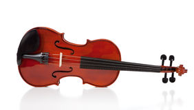 Classical Violin on White Royalty Free Stock Photo