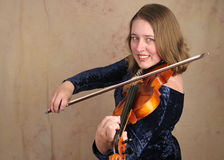 Classical Violinist 2 Stock Photo