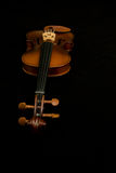 Classical violins lying Stock Images
