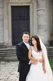 Classical wedding portrait Royalty Free Stock Photo