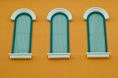 Classical windows Royalty Free Stock Photography