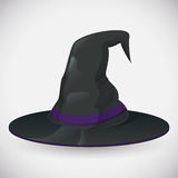 Classical Witch Hat Stock Image