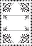 Classicall ornate border Stock Photography
