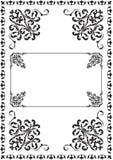 Classicall utsmyckad gräns royaltyfri illustrationer