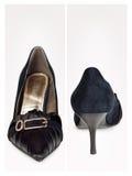 classicen shoes kvinnan Royaltyfri Bild