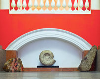 Classicism. Antique style interior, close up Royalty Free Stock Photography