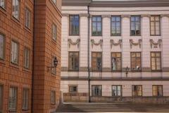 Classicism en Gamla Stan imagenes de archivo