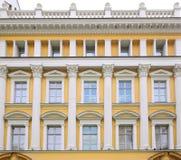 Classicist building facade Royalty Free Stock Photos