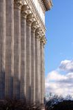 Classicist Colonnade Stock Photo