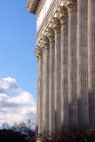 Classicist Colonnade Royalty Free Stock Photo