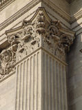 Classicist column head, St. Stephen's Basilica Stock Photography