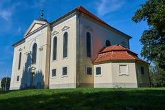 Classicist Lutheran Church in Sycowo Stock Photos