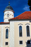 Classicist Lutheran Church in Sycowo Stock Photography