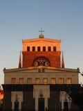 Classicistic kyrka Fotografering för Bildbyråer