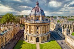 Free Classicl View Of The University Of Oxford In Britain Stock Image - 177859311