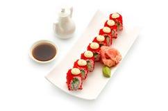 Classico di California dei sushi Fotografia Stock