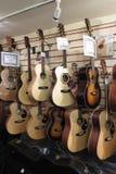 Classico o chitarre acustiche Fotografia Stock Libera da Diritti