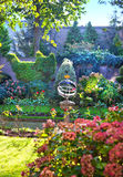 classicträdgård Arkivbild