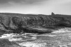 Classiebawn castle on the coasline. Of Co. Sligo - Ireland Stock Images