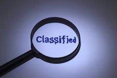 classifié Images libres de droits