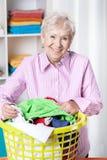 Classificando a lavanderia Fotos de Stock Royalty Free