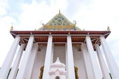 Classificazione reale Corridoio di Wat Chaloem Phra Kiat Worawihan fotografia stock libera da diritti