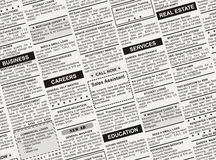 Classified Ad Royalty Free Stock Image