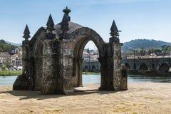 Guardian Angel Chapel in Ponte de Lima Stock Photo