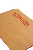 Classified envelope B Royalty Free Stock Photos