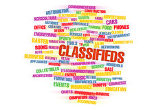 Classifieds Stock Photography