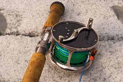 Classik fly-fishing reel 2 Stock Image