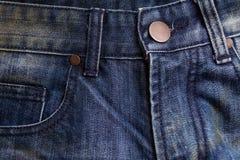Classique de fond de blue-jean Photo libre de droits