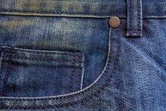 Classique de fond de blue-jean Photos libres de droits