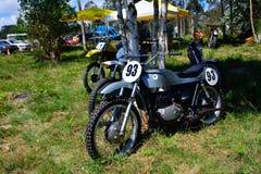 Classique de moto de motocross de réunion photo libre de droits