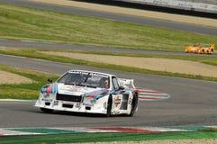 Classique historique de Mugello le 25 avril 2014 - Lancia bêta - 1979 Image libre de droits