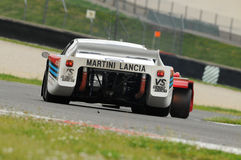 Classique historique de Mugello le 25 avril 2014 - Lancia bêta - 1979 Photographie stock libre de droits