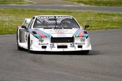 Classique historique de Mugello le 25 avril 2014 - Lancia bêta - 1979 Photo libre de droits